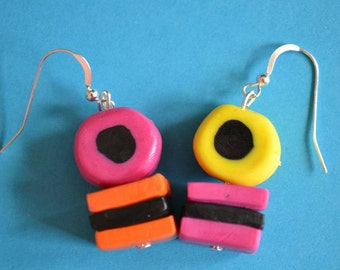 Liquorice Allsorts Earrings