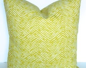 PILLOW Cover green Decorative Throw Pillows Citron Lime Green Throw pillow covers 20x20 Gold Tropical Home and Living
