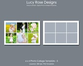 6 x 4 Photo Collage Template - 3