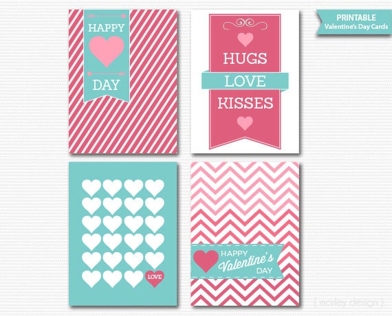 Valentines Gift Tags Valentines Cards Valentines Favor Tags ...