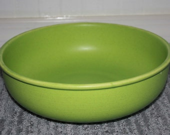 Vintage green Salad Bowl