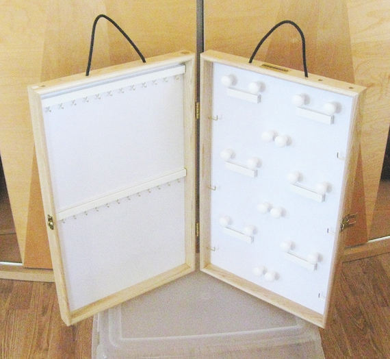 4 Portable Jewelry Display Cases Portable Display Cases Set