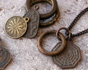 Vintage Buddhist Symbol Necklace - Design Your Own - Symbol Series I