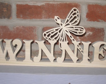 Dragonfly Name Plate