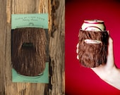 """Holiday Card """"Beerd"""" Can Beard Cozy - Manly Gift for Bearded Men!"""