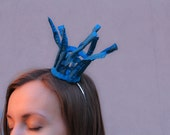 kim / headband / torquoise hair crown accessory
