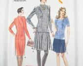 Vintage Vogue Dress Pattern 9313 - Misses' Dress in Three Vatiations - Sz 14/16/18