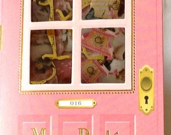 """CLEARANCE  Moca Porte Die Cut Sticker Flakes """"Picture Purr-fect"""" 64 pieces"""