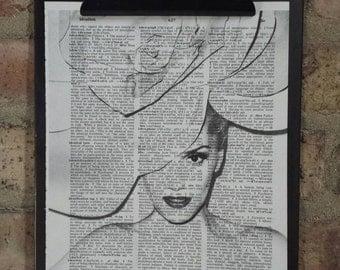 Gwen Stefani Dictionary Print