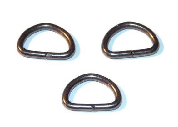 D rings 3 8 inch gunmetal black dee rings 10mm 3 8 for 3 inch rings for crafts
