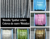 1 meter of 2mm Spanish leather, Craft supplies, Jewelry making, First quality leather, Choose color, Eco-friendly leather