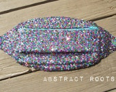 Sequin Fanny Pack -Festival Fanny Pack Rainbow Sparkly - Jewel Tone Rave Fanny Pack