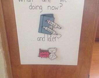 Kids Activity Board w/ 8 Activities