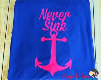 Never Sink, Infinity Anchor shirt