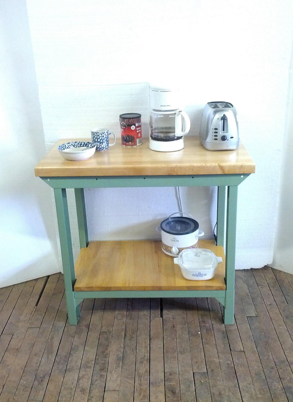 Kitchen Island Bar Cart Table Maple By Urbanfactoryclassics