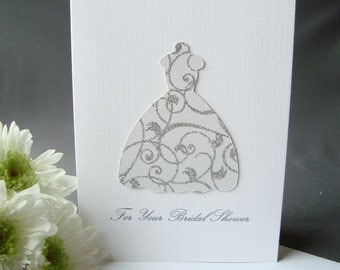 Bridal Shower Congratulations Card