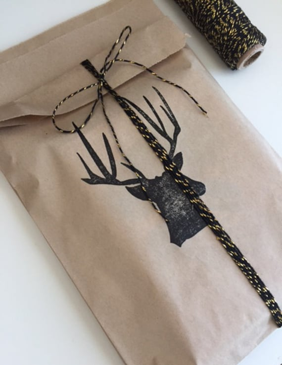 Deer Antler Treat Bags (Set of 25)