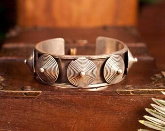 Hmong Miao 7 cone tribal bracelet
