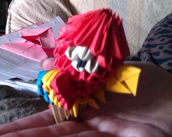 Modular Origami  Parrot