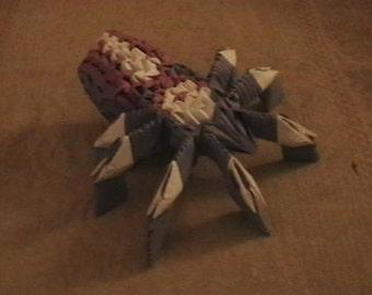 Modular Origami Tarantula
