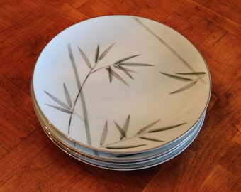 "Noritake ""Bambina"" - Set of Four Salad Plates"