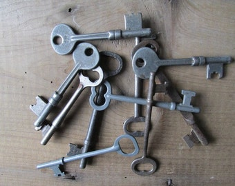 Skeleton Key Vintage Wedding Jewelry Supply Wedding Favor