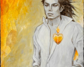 Michael Jackson Sacred Heart Series 8x10 Print