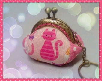 PDF Purse Pattern / Pattern and Instructions / Mini Frame Coin Purse Pattern / Key Chain Coin Pouch