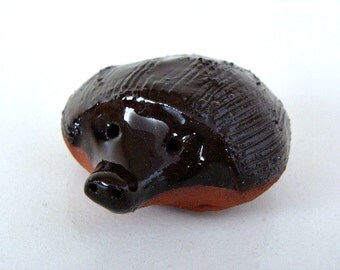 Hedgehog Miniature Sculpture  Figurine