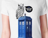 Dr Whom Shirt Funny Sarcastic Shirt Grammar Shirt Unique Teacher Gift Doctor Blue Phone Booth Call Box Shirt Funny Womens Tshirts Geekery