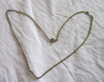 Vintage Gold tone 18 inch Necklace chain