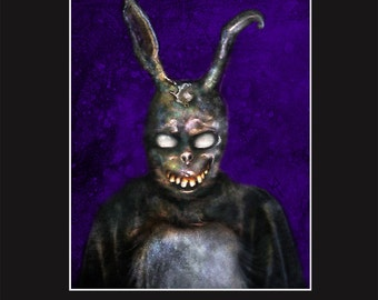 Frank the Bunny 11X14 Matted Print - Signed by Artist Joel Robinson