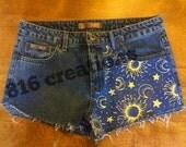Sun & Moon Shorts