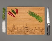 Brighton Royal Pavilion - Engraved Cutting Board - By the Owl and Otter
