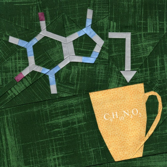 Coffee Chemistry - Paper Piecing