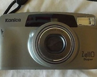 Konica Z-up 110 Super 35mm Film Point & Shoot Camera C26-25