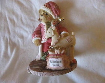 Cherished Teddies Wendall with Reindeer Limited Edition Figurine 848565  CL5-3