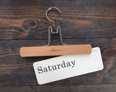 vintage flash card • Saturday / Saturdays | Dick and Jane | Alice and Jerry flashcard