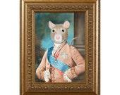 Rat Magnet, Sir Walter Ratleigh, Refrigerator Magnet, Rat Gifts