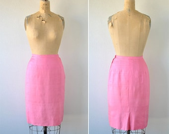 Vintage Pencil Skirt- Sportempos, Medium