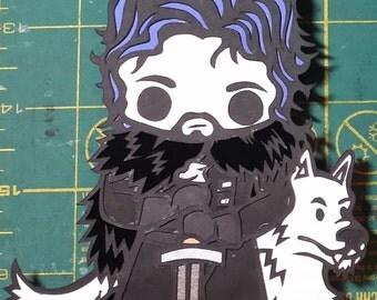 Jon Snow Magnet