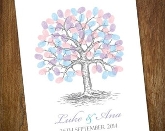 Traditional Fingerprint Tree PRINTABLE FILE ONLY