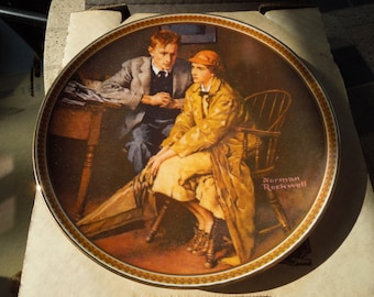 Norman Rockwell Plates, Various, Sell By The Piece, Knowles, Bradford Exchange, See List