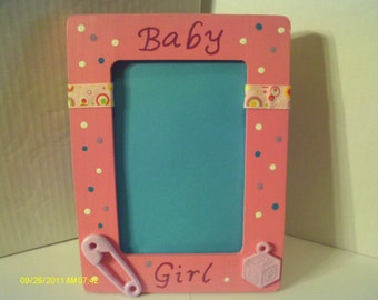 Baby Girl Picture Frame Pink