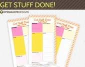 Filofax Personal Planner Inserts, To Do List, Filofax Printable To Do List, Filofax Inserts, Kikki K Planner Medium