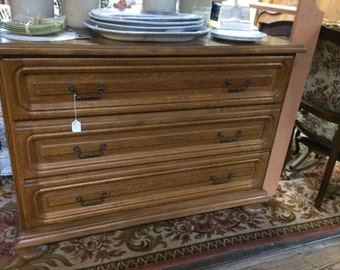 3 Drawer French Dresser
