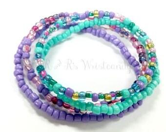Beaded Bracelets, Colorful, Minimalist,Seed Bead Bracelets, Bracelet Stack,Bracelet Sets,Handmade, Custom, Beaded Jewelry