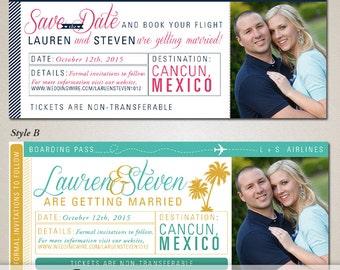 Destination Wedding Save The Date Magnet By DesignbyKristinLynn