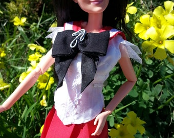 """Prototype Sailor Mars for Barbie, Sailor Moon Doll, and other 11 1/2"""" Dolls (Free Shipping!)"""