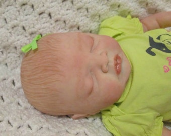 It's a Surprise! Sleeping Bald or Painted hair Reborn Doll Free shipping within USA
